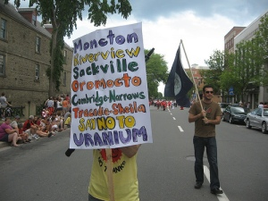 Cities and towns that say no to uranium! Why not Fredericton?